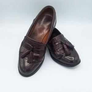 Allen Edmonds Bridgeton Tassel Loafers Sz 7D